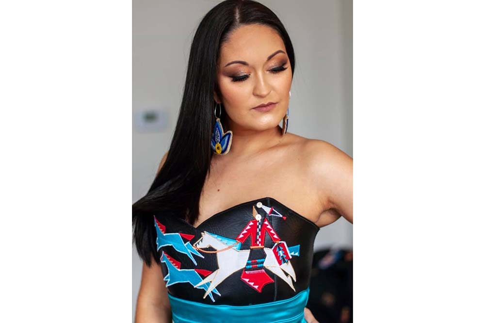 Indigenous couture hits center stage with Red Berry Woman designs